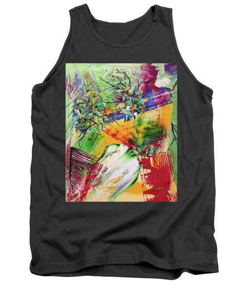 Looking Beyound The Present Tank Top by Sima Amid Wewetzer