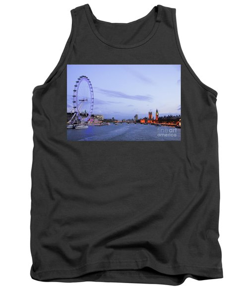 Looking Down The Thames Tank Top
