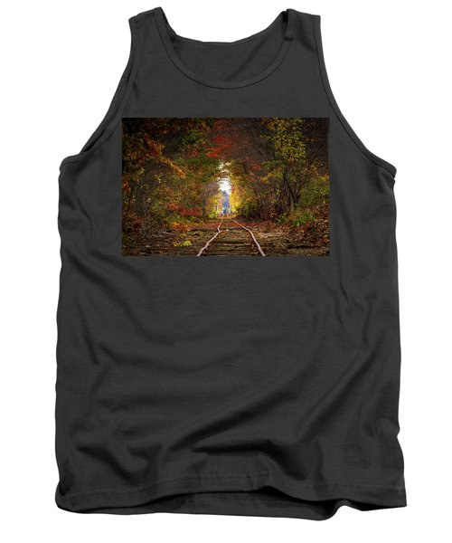 Looking Down The Tracks Tank Top