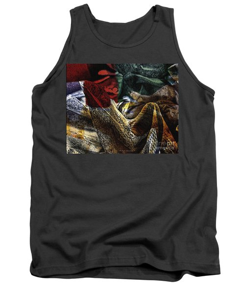 Looking For Answers Tank Top by Kathie Chicoine