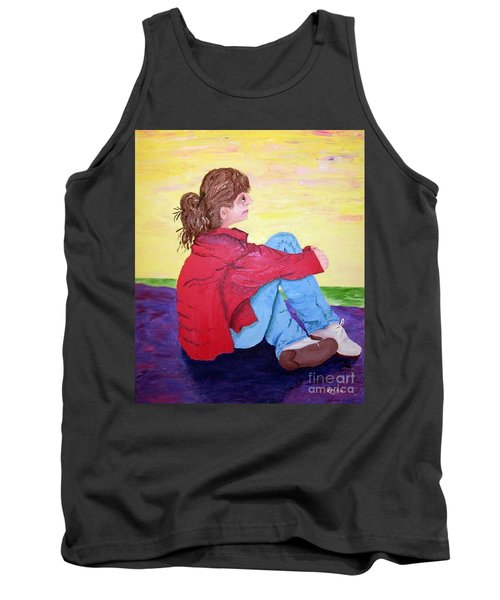 Looking For Hope Tank Top by Lisa Rose Musselwhite