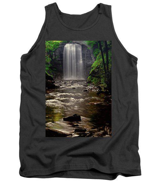 Tank Top featuring the photograph Looking Glass Falls 009 by George Bostian