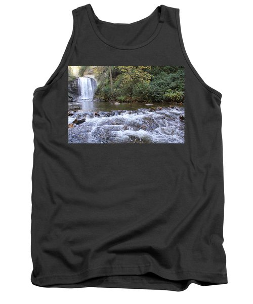 Looking Glass Falls Downstream Tank Top