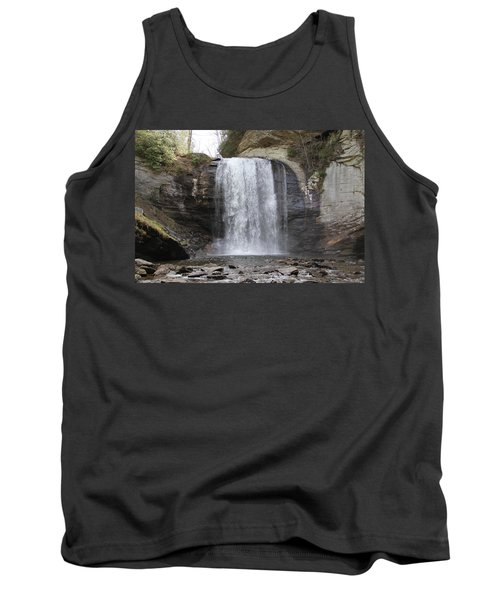Looking Glass Falls Front View Tank Top