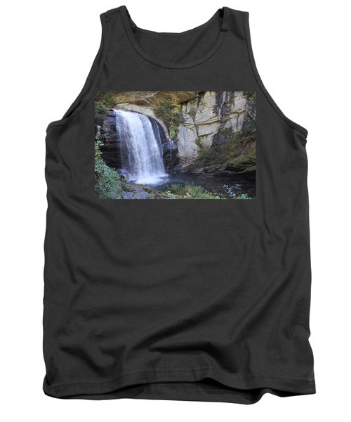 Looking Glass Falls Side View Tank Top