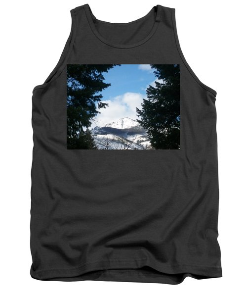 Tank Top featuring the photograph Looking Through by Jewel Hengen