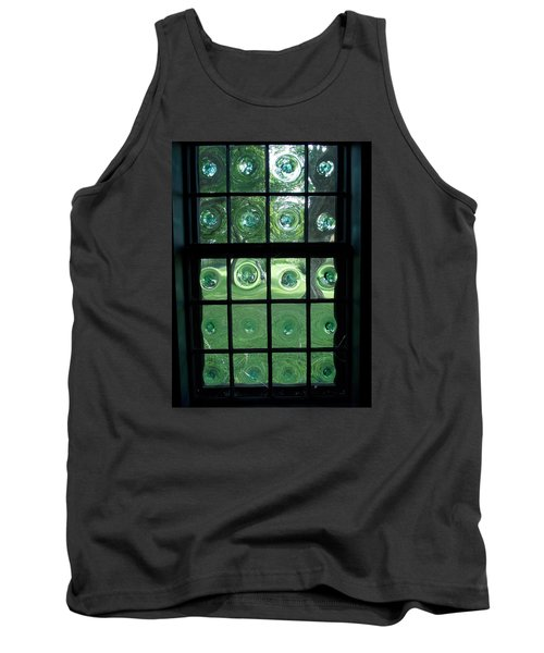 Looking Thru Bubble Glass Window Tank Top by Catherine Gagne