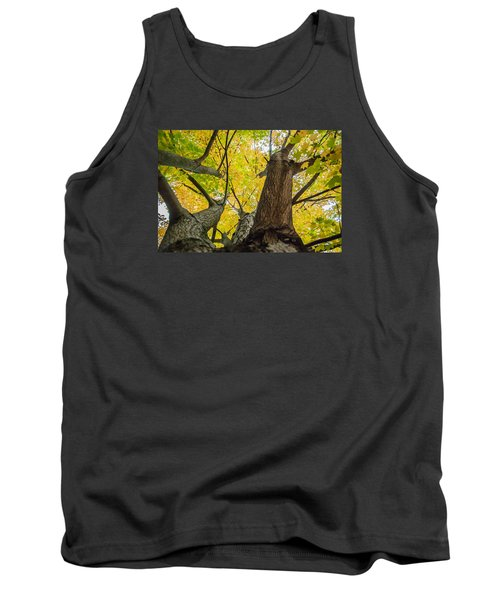Looking Up - 9682 Tank Top by G L Sarti