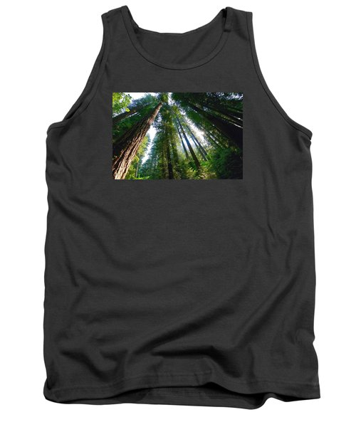 Tank Top featuring the photograph Looking Up by Lynn Hopwood