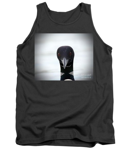 Loon Stare Tank Top by Peter Gray