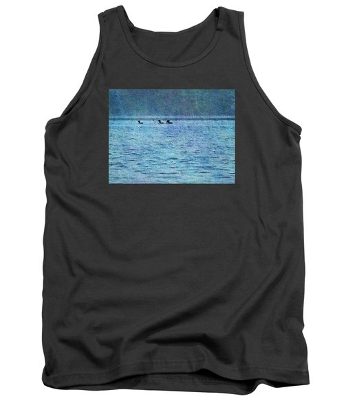 Loons On The Lake Tank Top