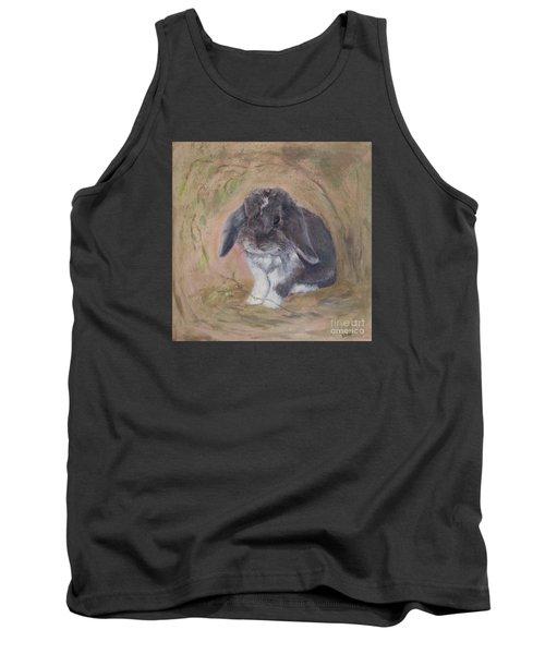 Lop Eared Rabbit- Socks Tank Top