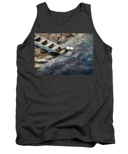 Tank Top featuring the photograph Lost Boys by Wayne Sherriff