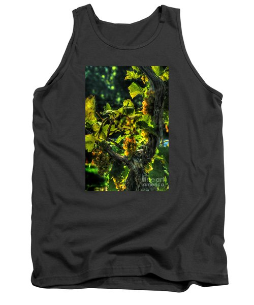 Tank Top featuring the digital art Lost Creek Chardonel by William Fields