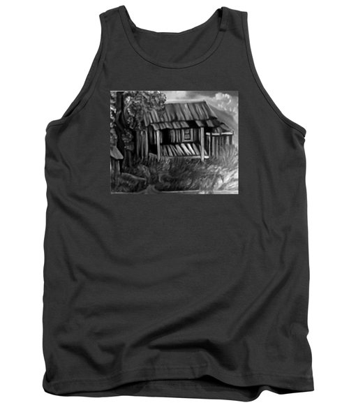 Tank Top featuring the painting Lost Home by Mildred Chatman