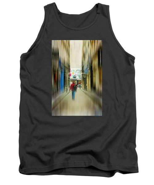 Lost In The Maze Of The City Tank Top