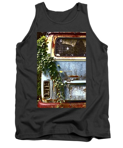 Lost In Time Tank Top by Carolyn Marshall