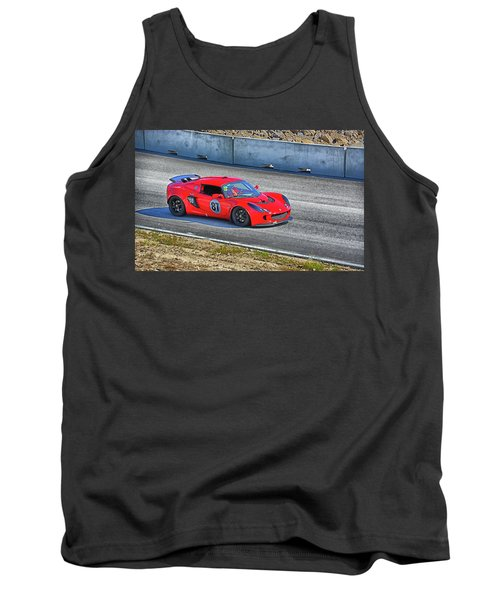 Lotus 87 Northeast Track Days Tank Top by Mike Martin