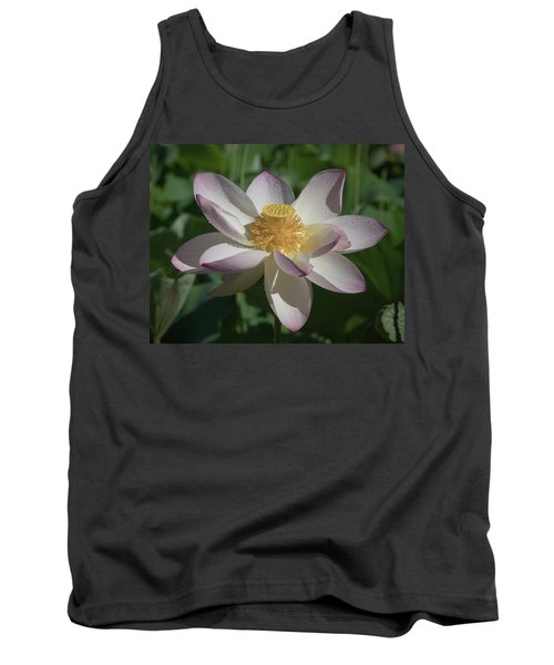 Lotus Flower In Bloom Tank Top
