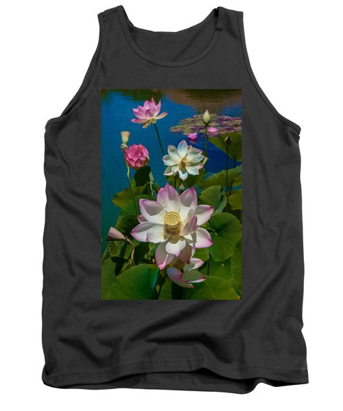Lotus Pool Tank Top