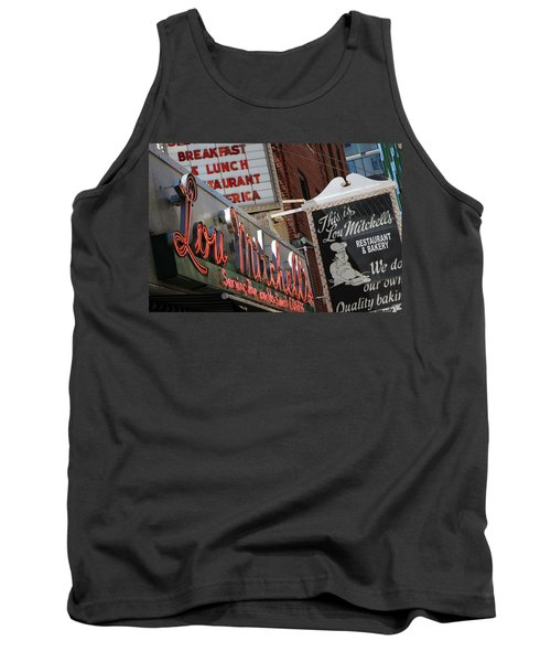 Lou Mitchells Restaurant And Bakery Chicago Tank Top