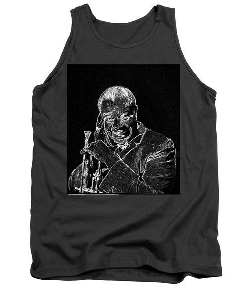 Louis Armstrong Tank Top by Charles Shoup