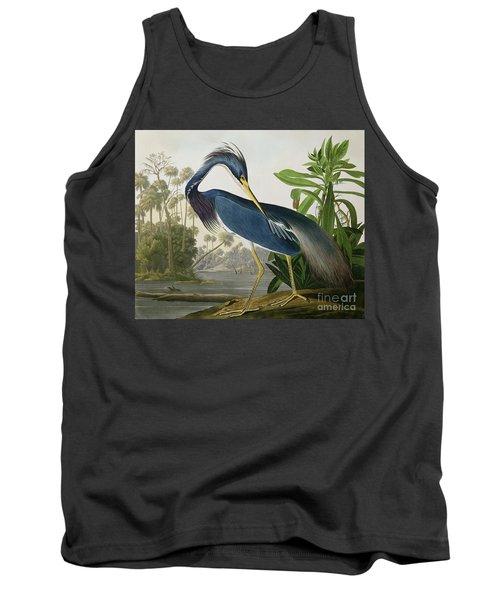 Louisiana Heron Tank Top