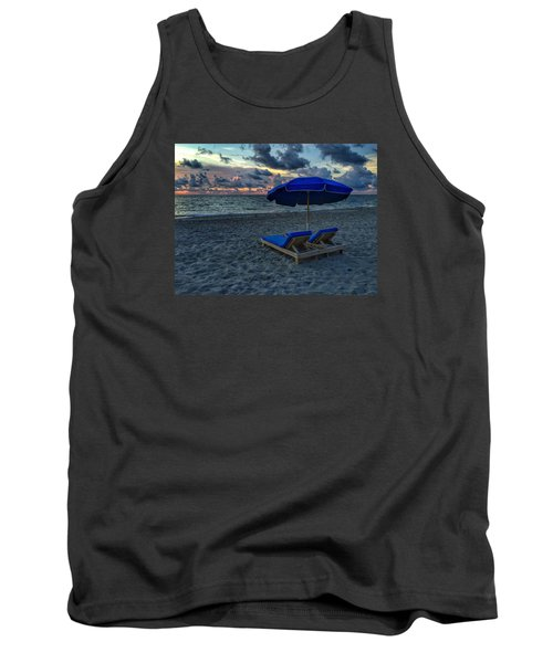 Lounging By The Sea Tank Top