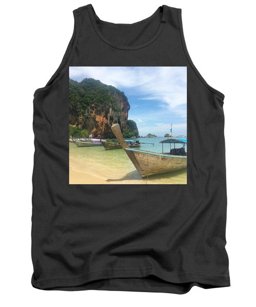 Lounging Longboats Tank Top