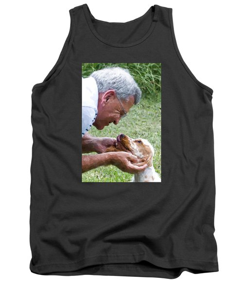 Love At First Sight Tank Top by Susan Molnar