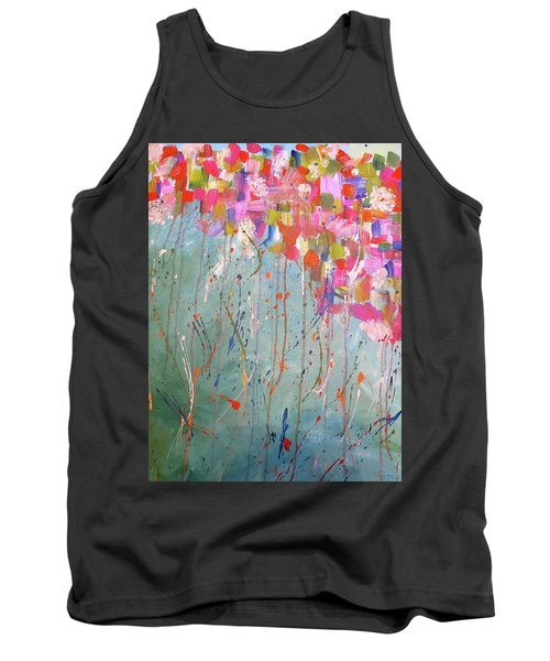 Love Flower Mountain Tank Top