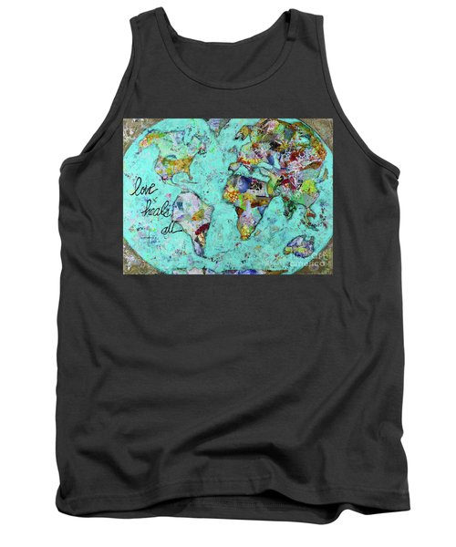 Love Heals All Tank Top by Kirsten Reed