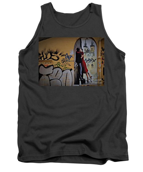 Love Is Everywhere Tank Top by AmaS Art