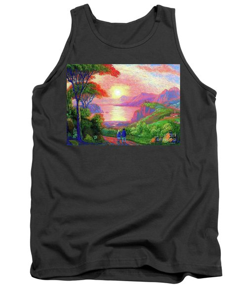Love Is Sharing The Journey Tank Top