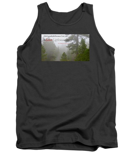 Tank Top featuring the photograph Love Light by David Norman