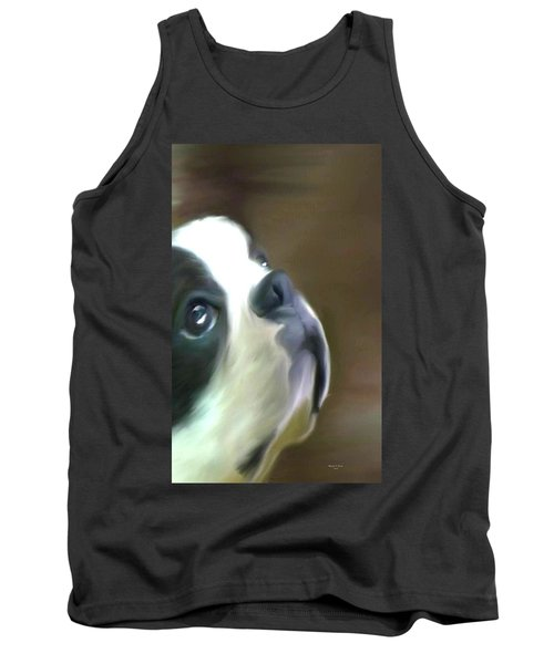 Love Of A Boston Tank Top by Maria Urso