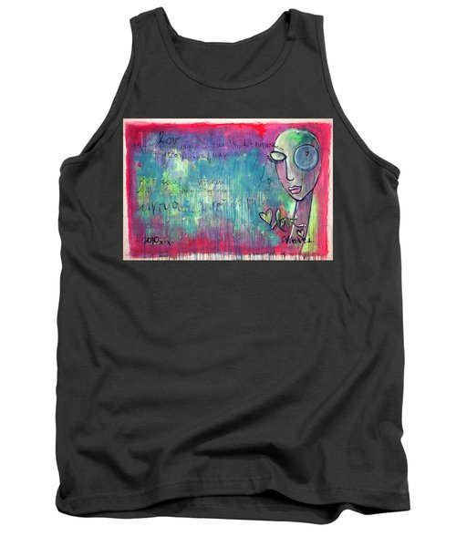 Love Painting Tank Top