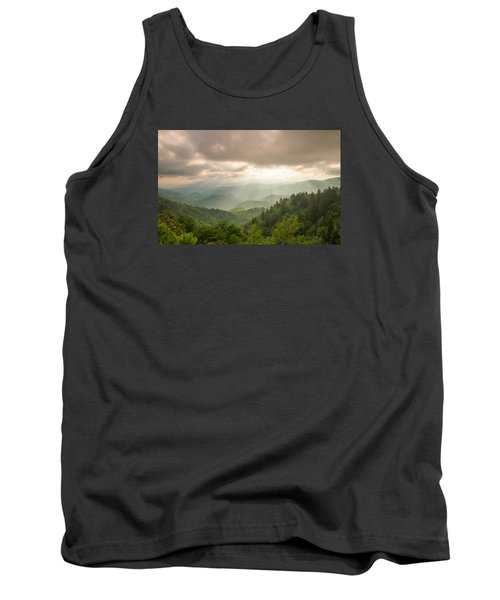 Tank Top featuring the photograph Love Shines Down by Doug McPherson