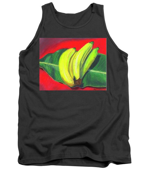 Tank Top featuring the painting Lovely Bunch Of Bananas by Arlene Crafton