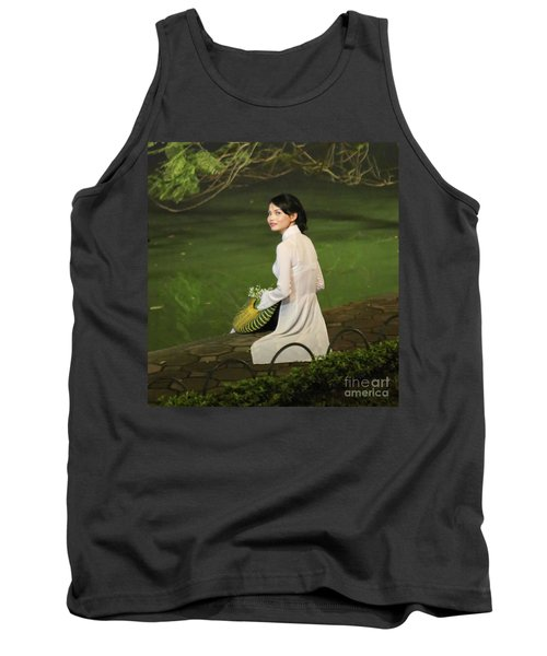 Lovely Vietnamese Woman  Tank Top by Chuck Kuhn