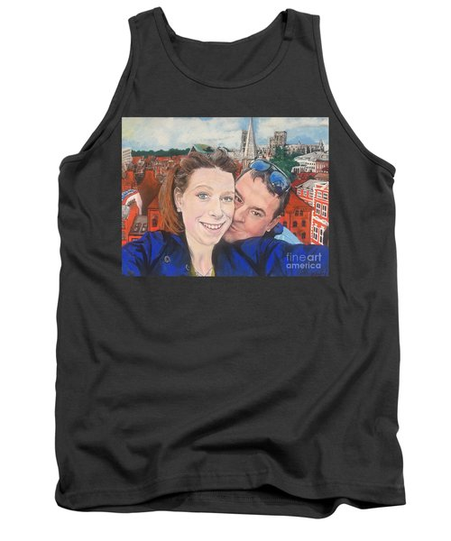 Lovers Selfie In York, England Tank Top