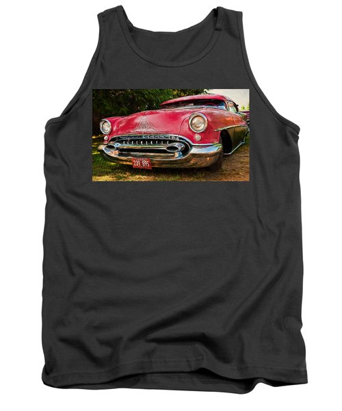 Tank Top featuring the photograph Low Rider Olds by Trey Foerster