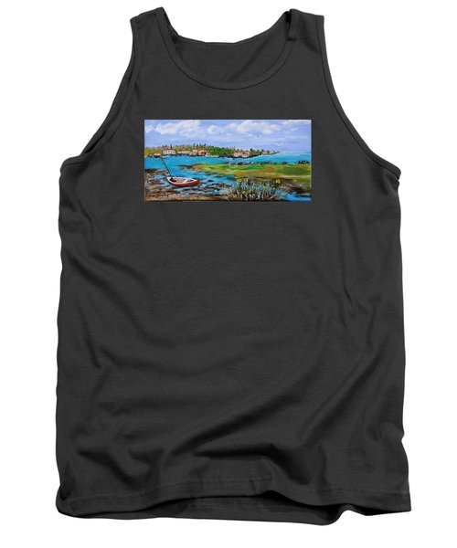 Low Tide Tank Top by Mike Caitham