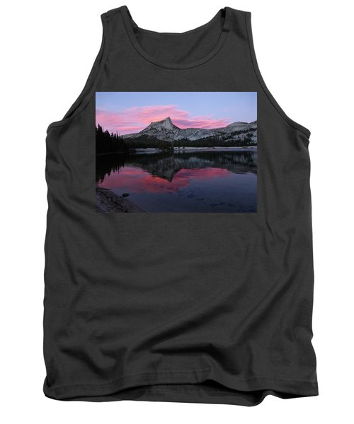 Lower Cathedral Lake Sunset Tank Top by Amelia Racca