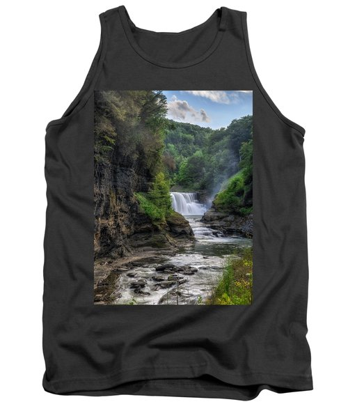 Lower Falls - Summer Tank Top by Mark Papke