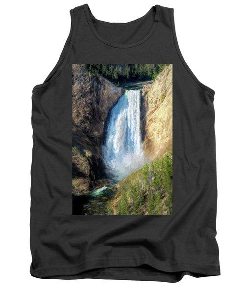 Lower Yellowstone Falls Tank Top