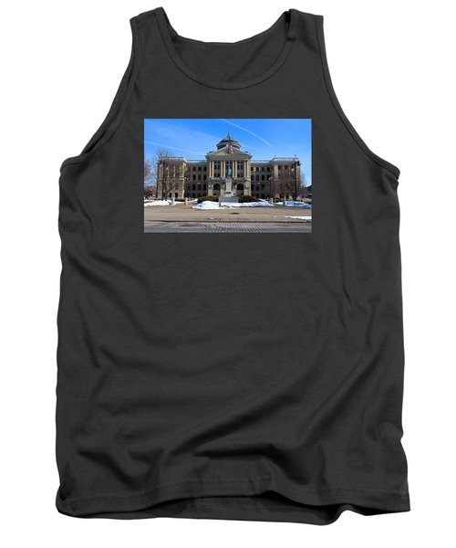 Tank Top featuring the photograph Lucas County Courthouse I by Michiale Schneider