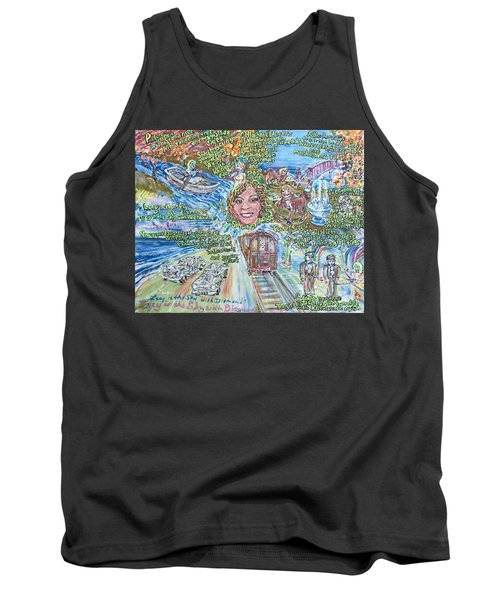 Lucy In The Sky With Diamonds Tank Top