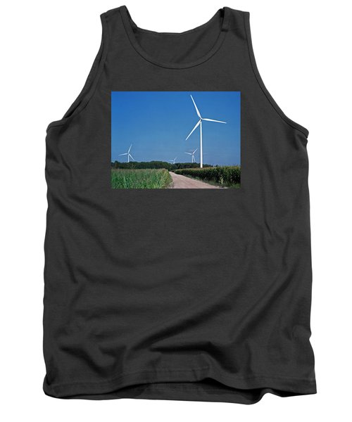 Ludington Wind Farm Tank Top