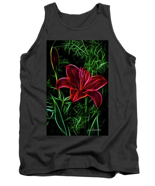 Luminous Lily Tank Top